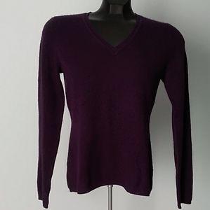 💯% Cashmere V-neck Sweater